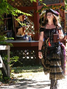 Pirate Wench, via Flickr.