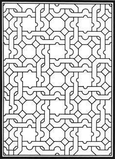 Mosaic Mandala Coloring Dovers Printable Pages Sheets