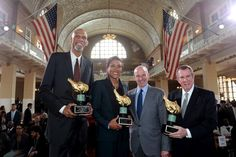 NBA Legend Kareem Abdul-Jabbar and News Anchor Robin Roberts Receive 2017 Ellis Island Family Heritage Awards