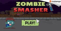 """Zombies Smasher Game - Zombies are trying to attack your town, Defend your town with """"Zombies Smasher"""", Download on your #Android now: http://www.mobango.com/download-zombies-smasher-game-games/?track=Q106X2436&cid=1989237"""