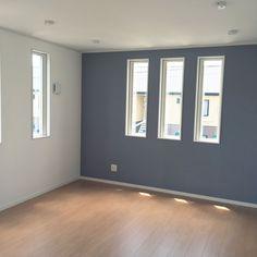 Bedroom/アクセントクロス/グレーの壁/サンゲツの壁紙のインテリア実例 - 2017-07-06 06:40:25