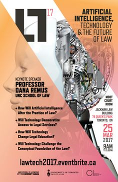 Artificial Intelligence, Technology and the Future of Law | Centre for Innovation Law and Policy