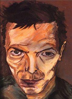 A self-portrait, painted by David Bowie