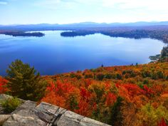 Lake Lila from Mt. Frederica - 9/28/14