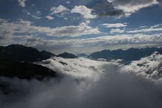 Wolkenhimmel im Paznaun Clouds, River, Outdoor, Paisajes, Mountains, Hiking, Outdoors, Outdoor Games, Outdoor Living