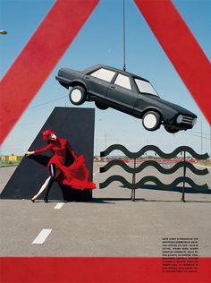 Tim Walker shoots Malgosia Bela September 2010 issue of Vogie Italia.