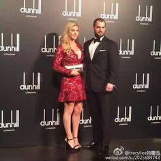 Henry Cavill & Tara Kng Shanghai, Nov 2015