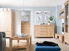 nábytek do obývacího pokoje dub sonoma