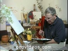 Painting Flowers in Watercolour with Charles Reid