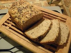 Vegan Recepies, Easy Bread, Banana Bread, Food And Drink, Desserts, Breads, Pizza, Fitness, Tailgate Desserts