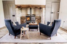 12 Log Burner Ideas to Create a Cosy Home