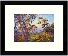 Define your modern style with this colorful La Jolla Eucalyptus framed wall art. <ul> <li>Solid black frame</li> <li>Artist: Erin Hanson PRODUCT DETAILS</li> <li>8.88''H x 10.88''W x 0.75''D</li> <li>Wood, paper, acrylic</li> <li>Horizontal display</li> <li>Hanging wire</li> <li>Wipe clean</li> <li>Model no. DSW3422460</li> </ul>