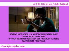 Life as told in an Asian Drama