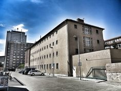 Außenaufnahme der ehemaligen Untersuchungshaftanstalt der Stasi in der Rostocker Hermannstraße 34b. Diese kann man besichtigen.