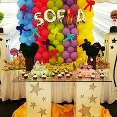 Globos para Sofía #balloonsparty #decoraciones #globos
