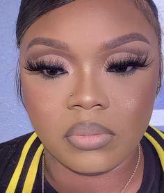 Unique Makeup, Cute Makeup, Gorgeous Makeup, Glam Makeup, Pretty Makeup, Makeup Looks, Hair Makeup, Makeup For Black Skin, Black Girl Makeup