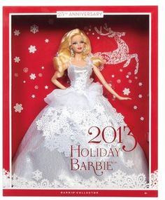 Barbie Collector 2013 Holiday Doll: Shopko