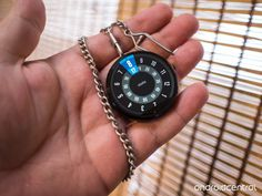 3d printed modification to turn a moto 360 android wear watch into a pocket watch