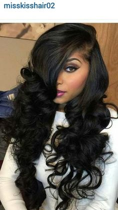 This hairstyle is a total knockout. What a transforming sexy look.