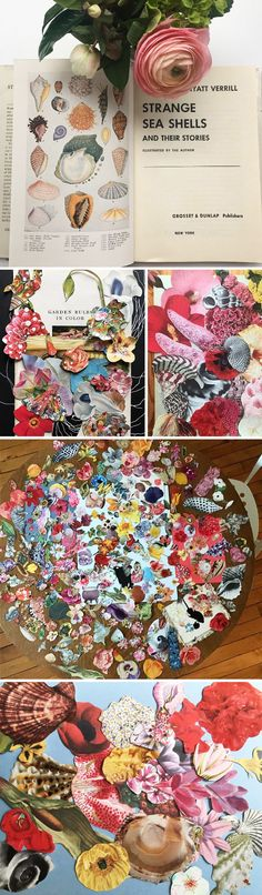 #WIP - collage artist jenny brown