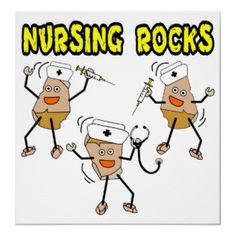 Nursing Rocks Posters