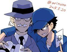 Jii and Kaito Magic Kaito