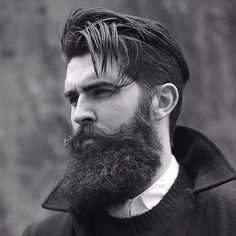 Great hair, too much beard though - Chris John Millington Beard Styles For Men, Hair And Beard Styles, Hair Styles, Great Beards, Awesome Beards, Barba Grande, John Millington, Beard Haircut, Epic Beard