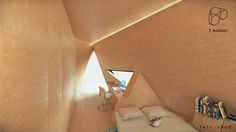 The Tetra Shed by Innovation Imperative addresses the ever growing trend of the home office. It offerss an alternative to what has been the past norm, of giving Contemporary Architecture, Interior Architecture, Interior And Exterior, Interior Design, Shed Office, Home Office Space, Design Modular, Innovation, Origami