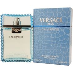 Versace Man Eau Fraiche by Gianni Versace is the right daytime cologne for the man looking to make an impression. Introduced in 2006, the fragrance features a number of notes, including a mix of lemon, carambola, rosewood, tarragon, musk and sage, to create a scent that will help get you through your day. The cologne provides you with flexibility to wear it in a number of situations, such as an afternoon out with your family or a day at the office. Item # 157245 EDT Spray 3.3 oz.