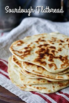 This sourdough Greek yogurt flatbread is so easy to make, and is wonderful for using your sourdough starter discard. Sourdough Starter Discard Recipe, Bread Starter, Naan Recipe, Flatbread Recipes, Sourdough Recipes, Sourdough Bread, Sour Dough Starter, Greek Bread, Breads