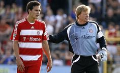 Mats Julian Hummels and Oliver   Kahn (FC Bayern München)