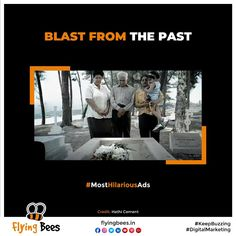 We are back with some more creative & stunning ads from the last decade. Relive these iconic ads & do let us know which one was your favorite! Credit :- Hathi Cement #hathicement #CreativeAds #MostHilariousAds #advertising #marketing #branding #DigitalMarketing #Flyingbees #KeepBuzzing #letsflytogether Marketing Branding, Which One Are You, Cement, Digital Marketing, The Past, Bee, Advertising, Social Media, Let It Be