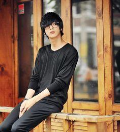 64 Ideas hair men style korean won jong jin for 2020 Korean Fashion Ulzzang, Korean Fashion Winter, Korean Fashion Casual, Korean Fashion Trends, Korean Street Fashion, Won Jong Jin, Cute Korean, Korean Men, Asian Men