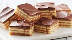 Triple-Layer Cracker Toffee Bars