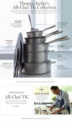 Thomas Keller's All-Clad Collection
