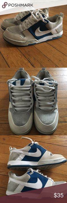 Nike 6.0 Nike 6.0 skateboard style shoes, these are classics! In good condition some marks, a good cleaning and these shoes will be almost new! Nike Shoes Sneakers