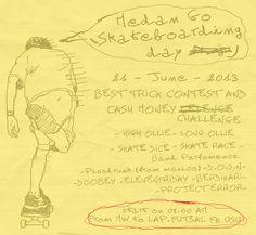 Medan Skateboarding Day 2013 teaser