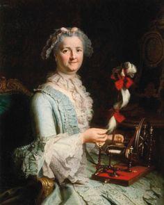Jacques André Joseph Aved, Portrait présumé de Françoise-Marie Pouget, vers 1760, inv. no. P49. © Musée Carnavalet / Roger-Viollet