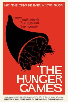 Saul Bass - The Hunger Games - Movie Poster