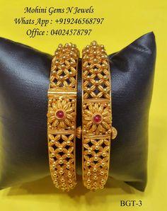 Designer 916 Bangle  Mohini Gems N Jewels What's app :+919246568797