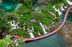 Plitvice Lakes from Above | Flickr - Photo Sharing!