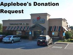 Applebee's donation requests can be submitted at the local restaurant level or through their corporate marketing department. Since Applebee's has both corporate-owned and franchise locations, some donation requests will need to go through a franchise ownership group.