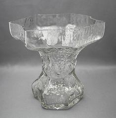 Glass vase, Fantasma, Nanny Stil | Shopping Place for Friends of Old Antique Dishware - Dishwareheaven.com. Product no ab233. Glass vase, Fantasma. Design: Nanny Stil. Years: 1968-1972. Height 19,5 cm, diameter 19 cm. Price: 135.00 €