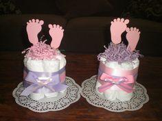 Babyshower centerpieces