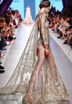 Michael Cinco Couture Michael Cinco Haute Couture, Fascinator, Our Wedding, Wedding Ideas, Bridal Dresses, Fashion Photography, Fancy, Formal Dresses, Dubai