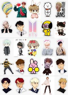 Pop Stickers, Tumblr Stickers, Printable Stickers, Korean Stickers, Bts Backgrounds, Bts Drawings, Journal Stickers, Bts Chibi, Aesthetic Stickers