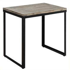 Convenience Concepts Wyoming End Table (€82) ❤ liked on Polyvore featuring home, furniture, tables, accent tables, onyx table, black chairside table, black side table, black accent table and black furniture