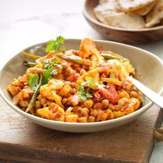 Cauliflower & Chickpea Curry
