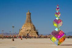 Kirsten Berg – (in)visible – Burning Man 2014