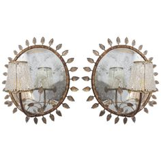Pair of Maison Bagues Sconces, C1930   From a unique collection of antique and modern wall lights and sconces at http://www.1stdibs.com/furniture/lighting/sconces-wall-lights/